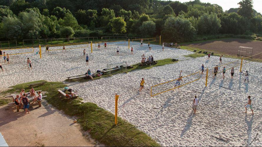 Beachvolleyballplatz IGS Holweide Köln