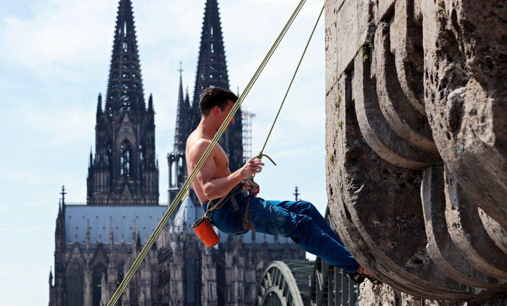 Kletterer Köln
