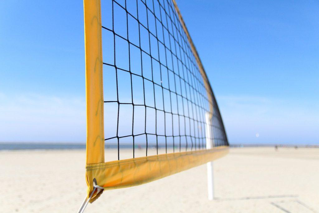 Beachvolleyballnetz Strand
