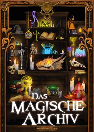 Erfahrungsbericht & Test Team X Das Magisch Archiv