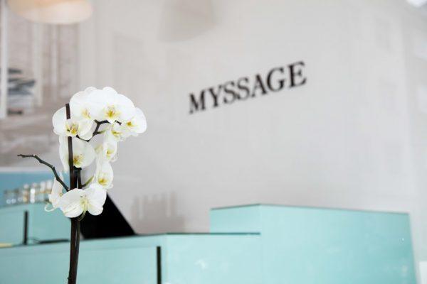 MYSSAGE Massage Empfang Köln